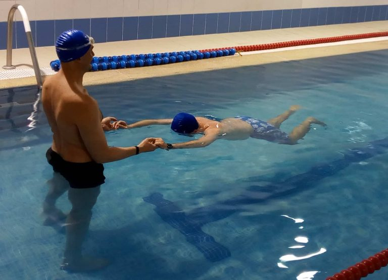 Intensivos de natación para adultos