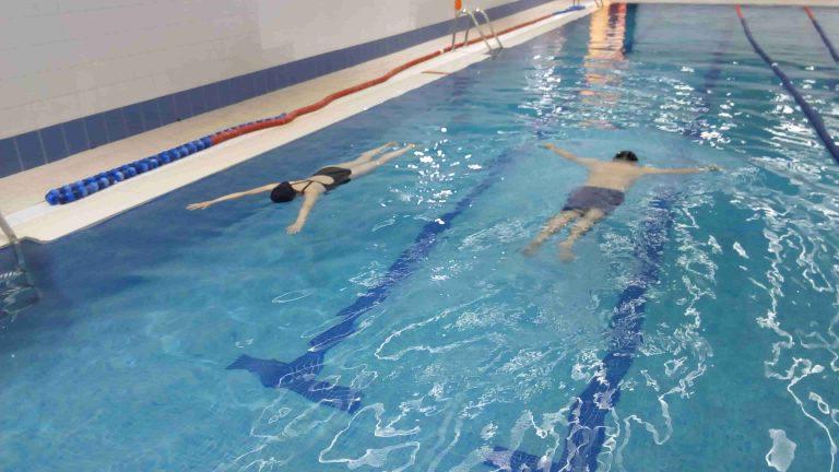 Superando el miedo a flotar